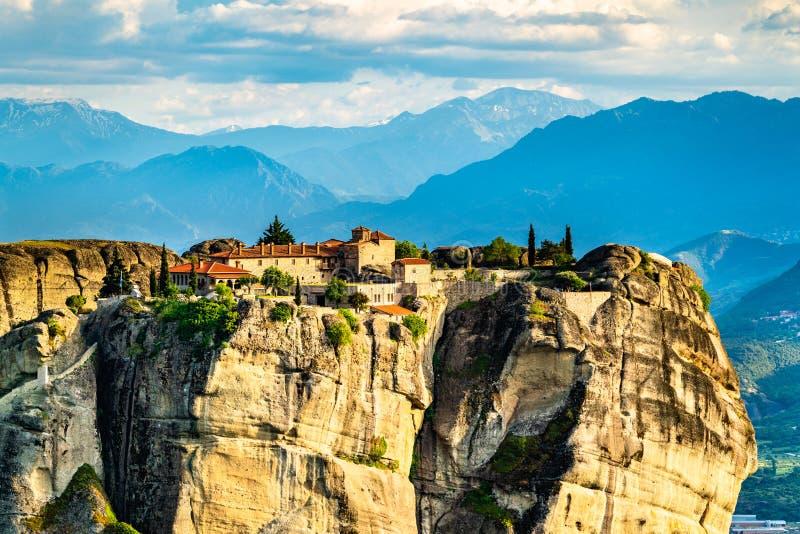 The Holy Trinity Monastery at Meteora in Greece royalty free stock photos