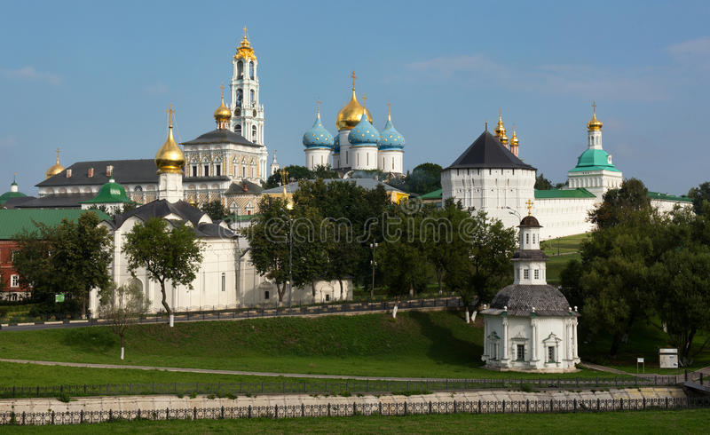 The Holy Trinity-St. Sergius Lavra, Russia. stock image