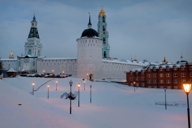 Holy Trinity St. Sergius Lavra. Sergiev Posad, the views of the Holy Trinity St. Sergius Lavra. Russia stock photos