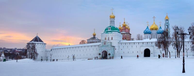 Holy Trinity St. Sergius Lavra. Sergiev Posad, the views of the Holy Trinity St. Sergius Lavra. Russia stock photography