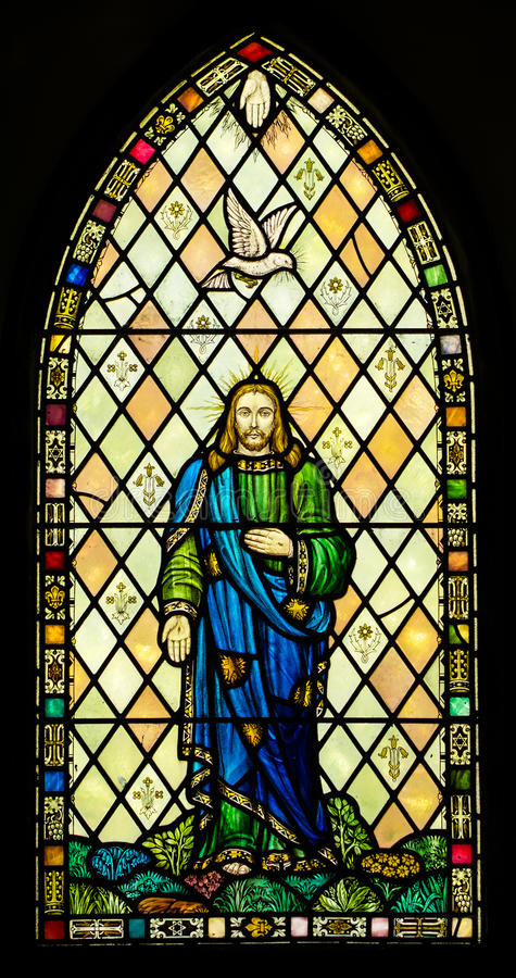 Download Holy Trinity Stained Glass Window Royalty Free Stock Photography - Image: 35543047
