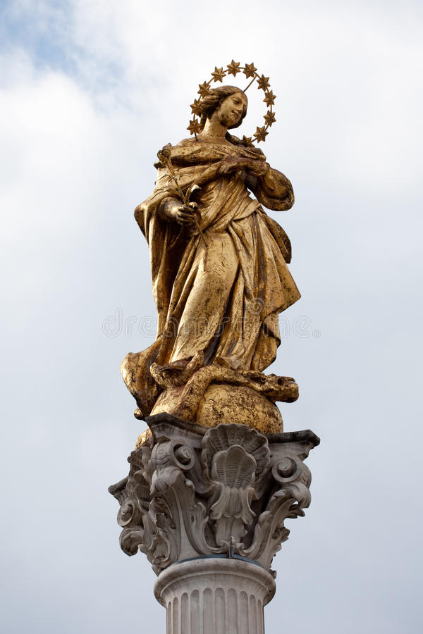 Download Holy Virgin Marry stock photo. Image of outdoor, statue - 21359566