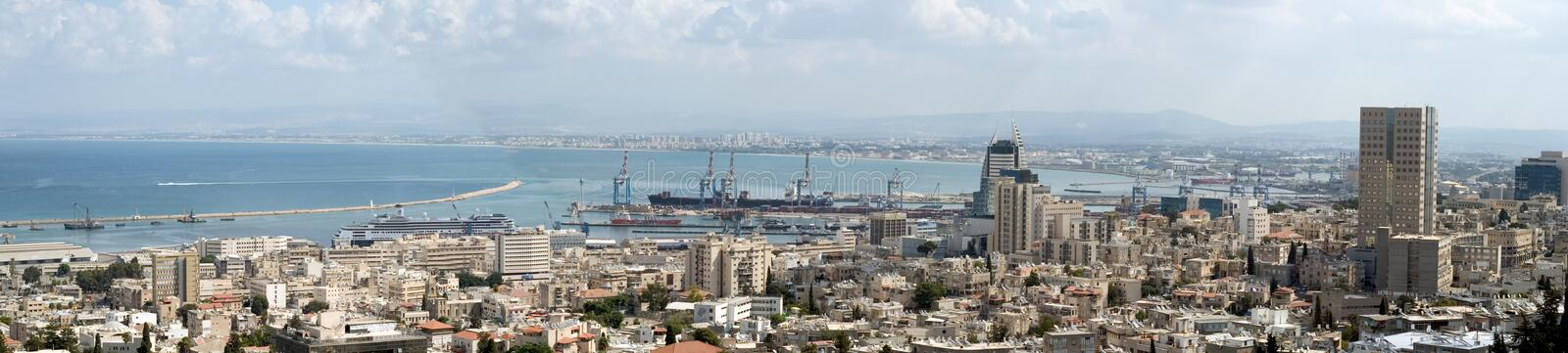 Download Holyland Series-Haifa Bay stock photo. Image of cityscape - 3328152