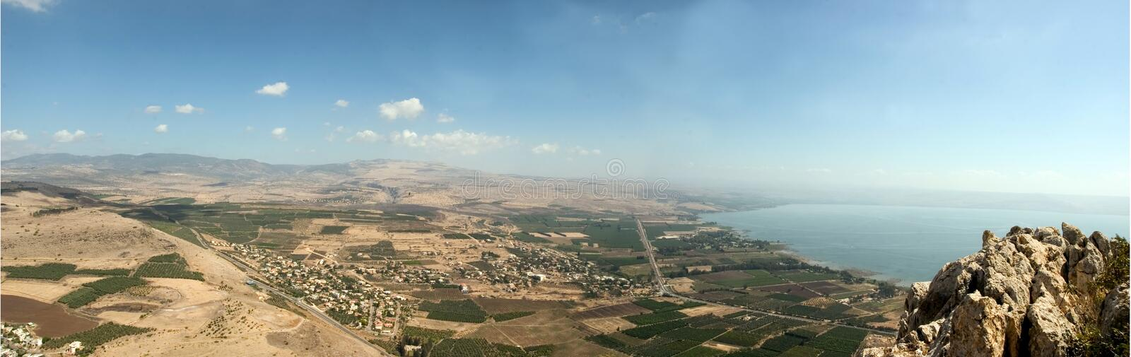 Holyland series-Mt. Arbel royalty free stock images