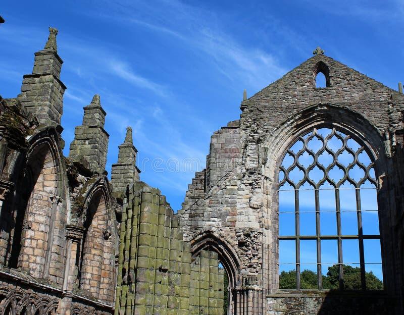 Holyrood abbotskloster royaltyfri foto