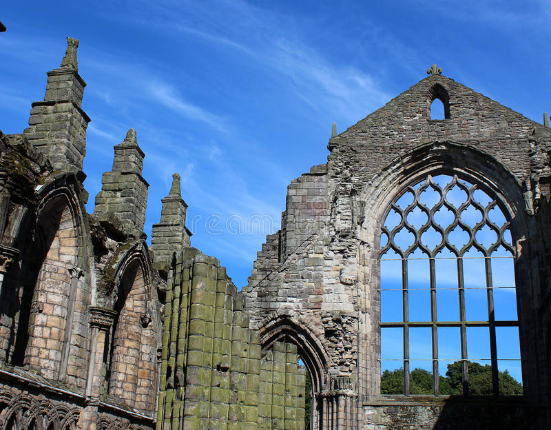 Holyrood-Abtei lizenzfreies stockfoto