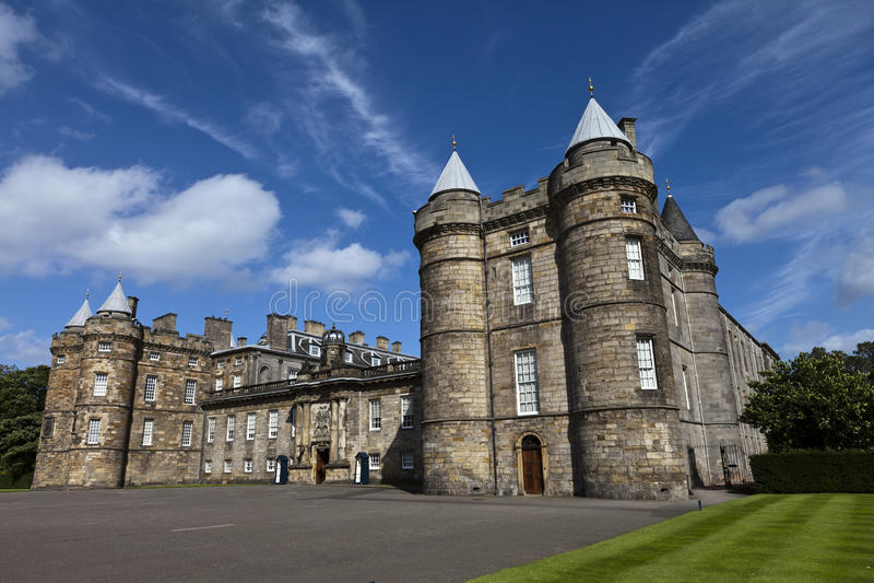 Holyrood Palace royalty free stock photography