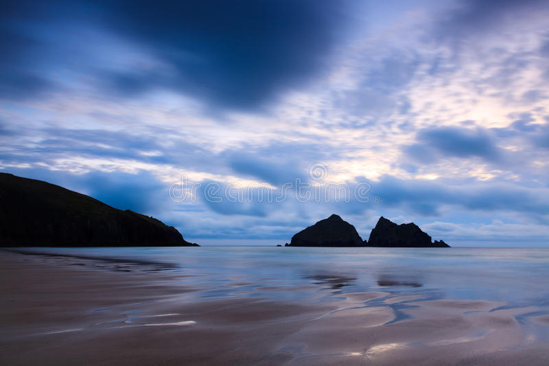 Download Holywell Bay stock photo. Image of sunsets, sunset, evening - 20569258