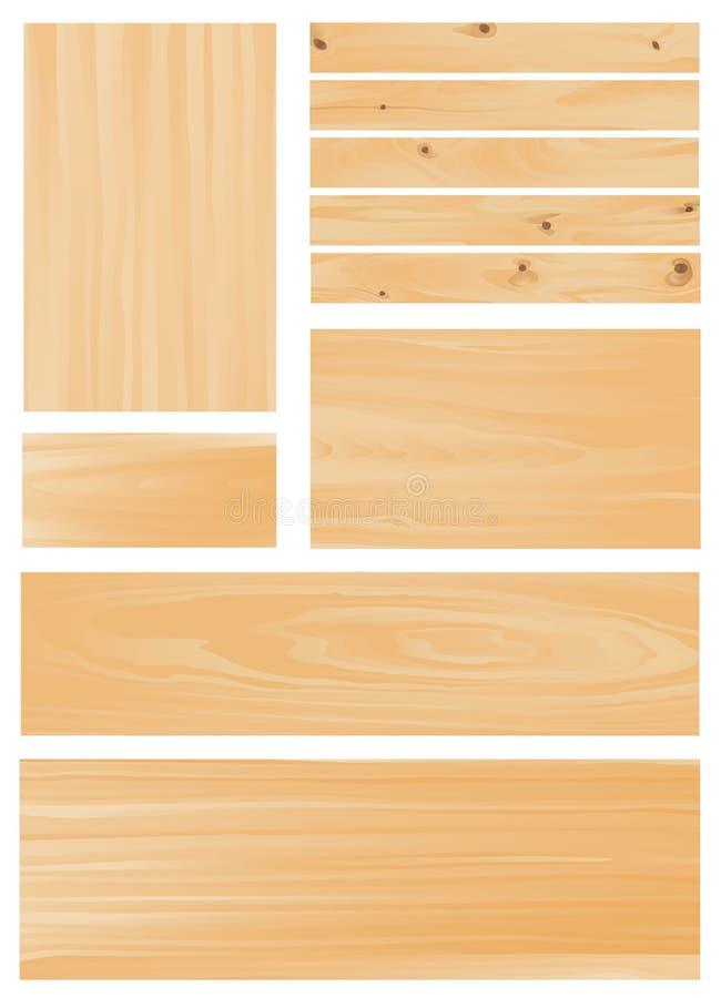 Holz vektor abbildung
