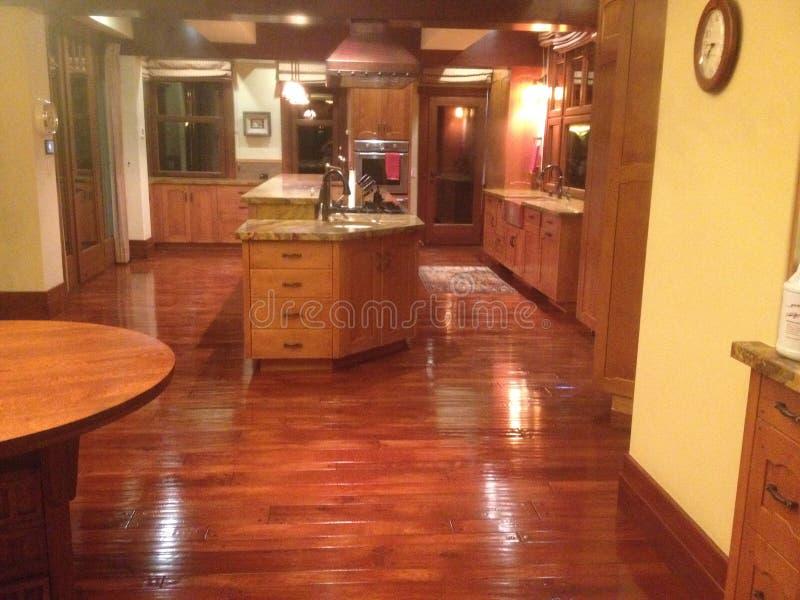 Holz im Haus lizenzfreies stockfoto