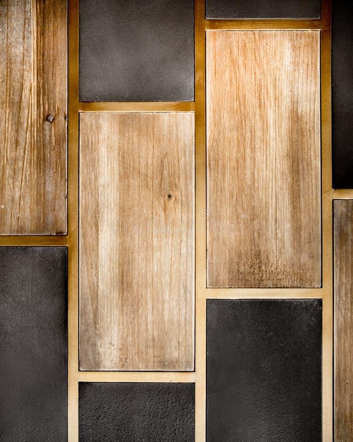 Holz und Fliese stockbilder