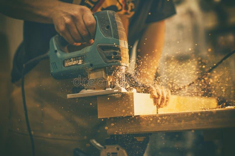 Holzarbeit stockbilder