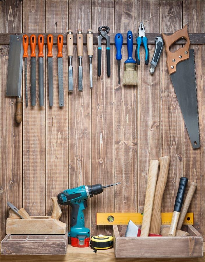 Holzarbeit stockbild