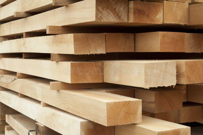 Holzbalken stockbild