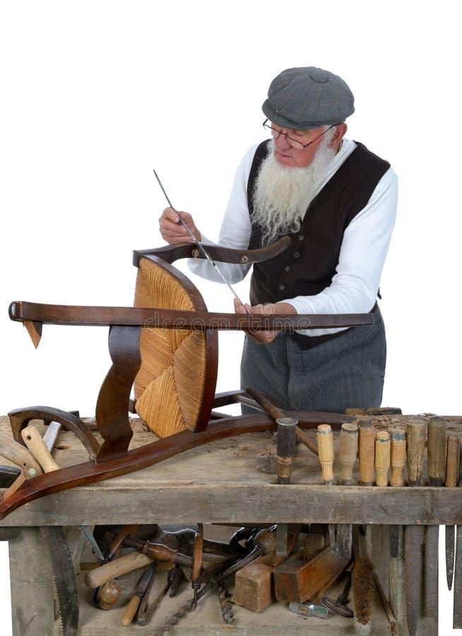 Holzbearbeitung stockfoto