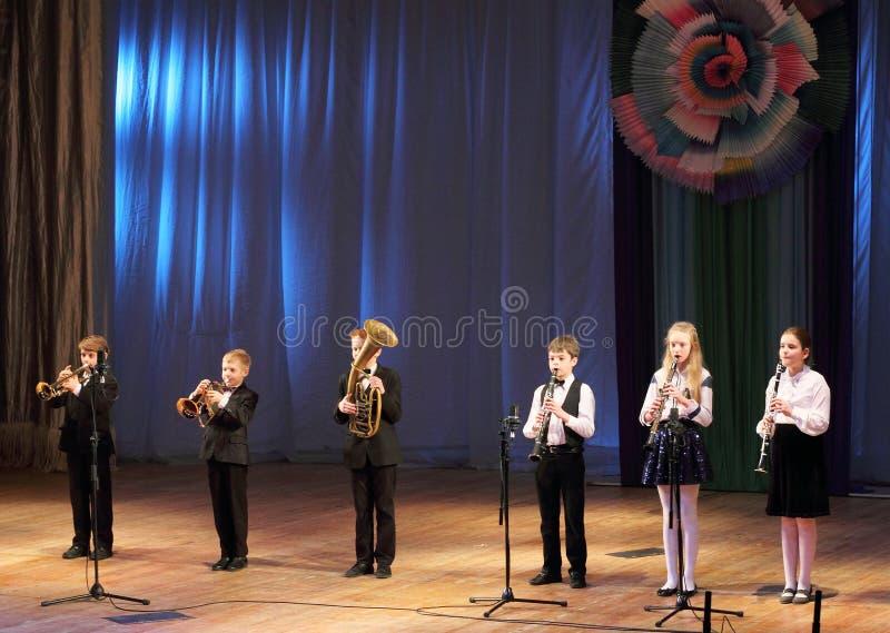 Holzblasinstrument-Ensemble lizenzfreies stockfoto