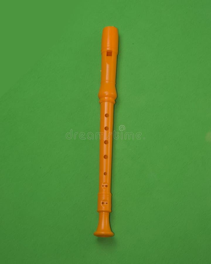 Holzblasinstrument-Musikinstrument stockfoto