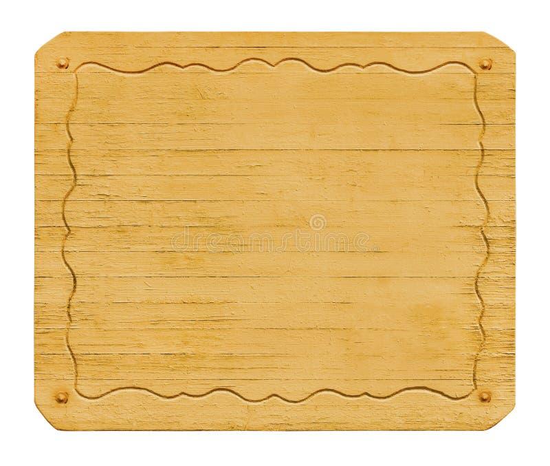 Holzverkleidung gestaltet mit einem dekorativen Muster Getrennt lizenzfreies stockbild
