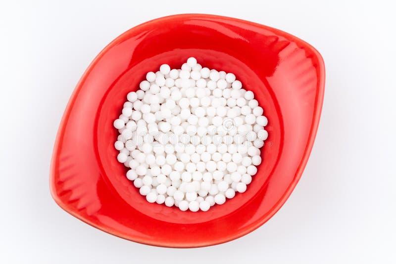 Homöopathische Pillen lizenzfreies stockbild