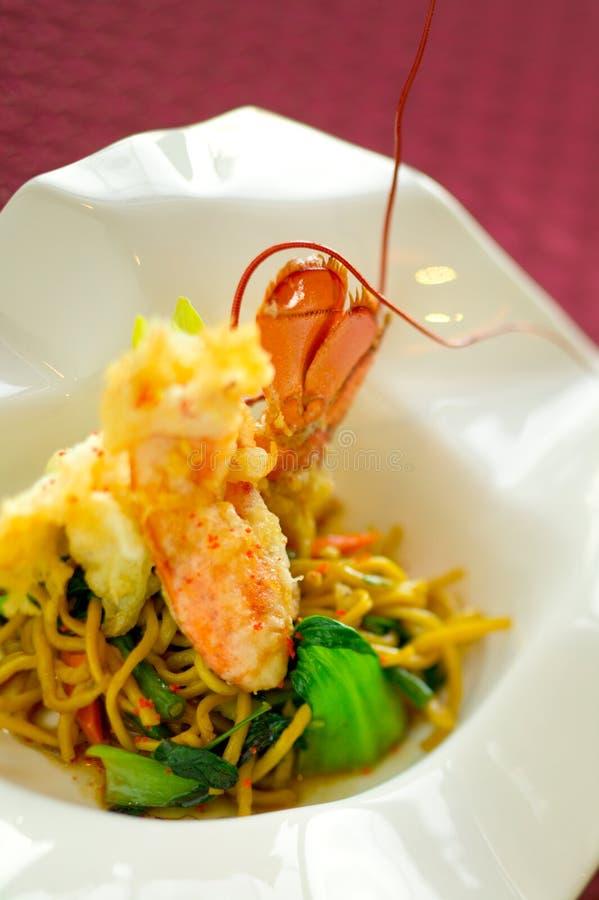 homara makaronu tempura obrazy stock