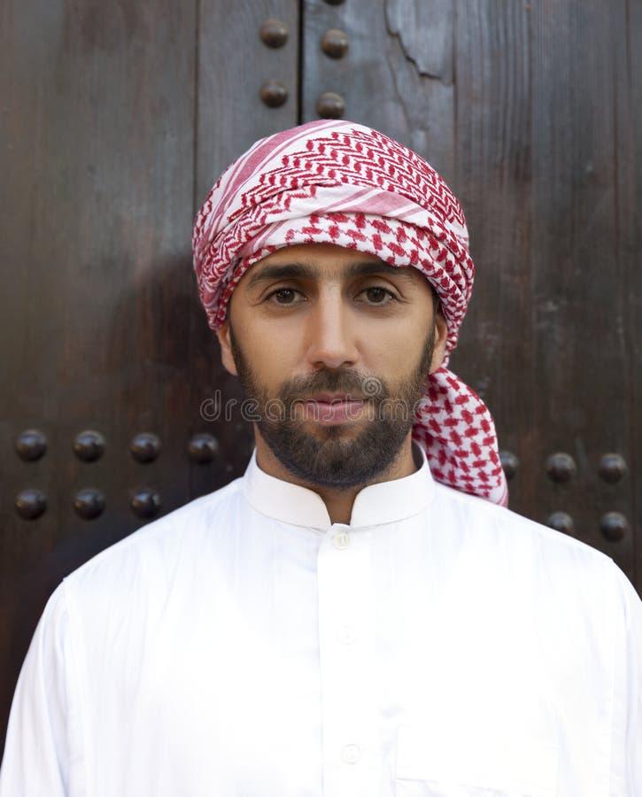 Hombre árabe joven foto de archivo