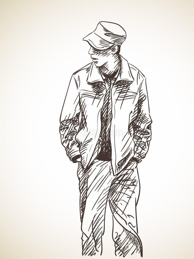 Hombre imagen de archivo