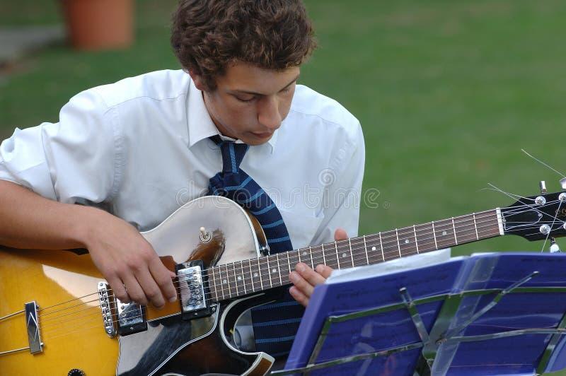 Hombre 9 de la música fotografía de archivo