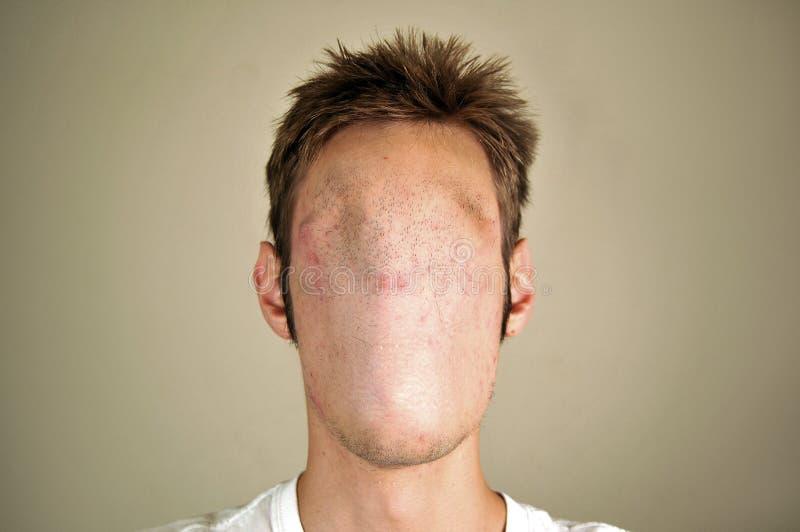 Hombre anónimo foto de archivo