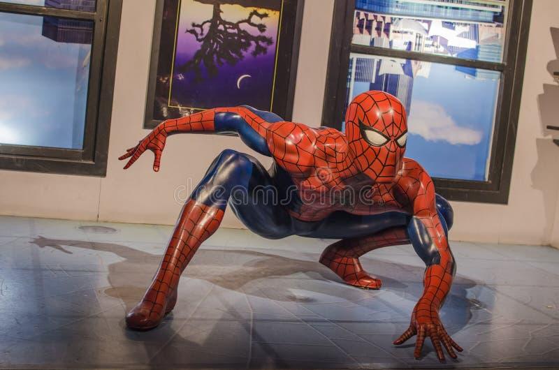 Hombre araña imagen de archivo