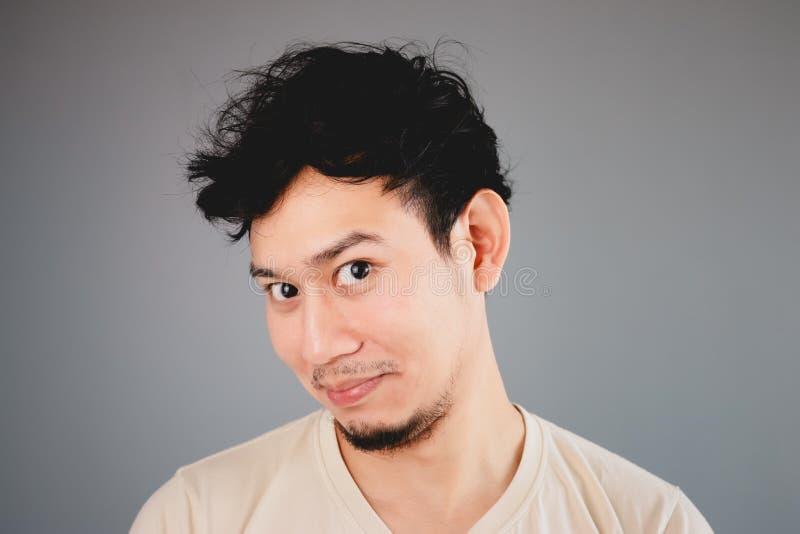 Hombre asiático feliz fotos de archivo