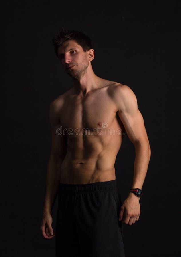 Hombre atlético fotos de archivo