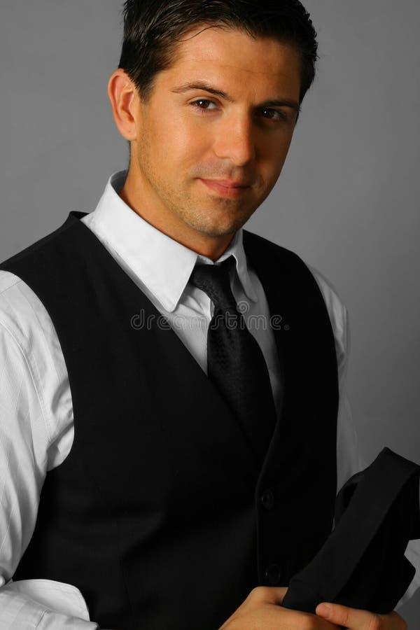 Hombre atractivo foto de archivo libre de regalías