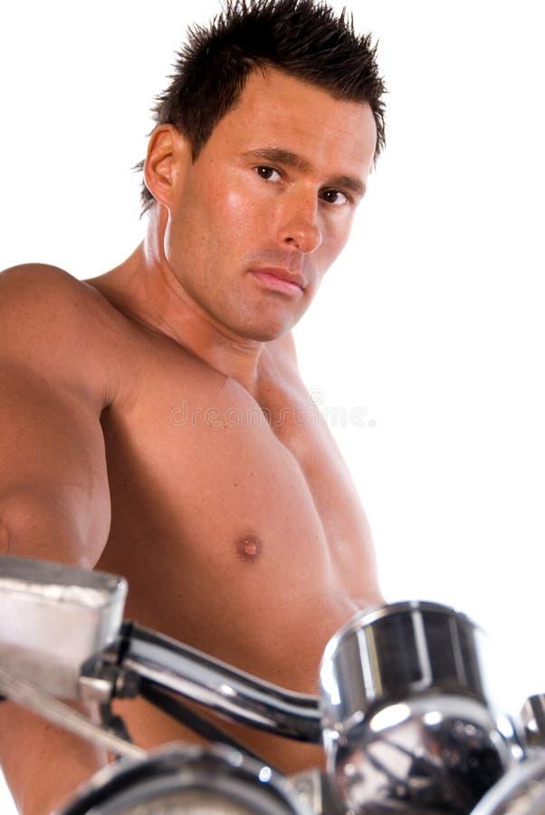 Hombre atractivo. imagen de archivo