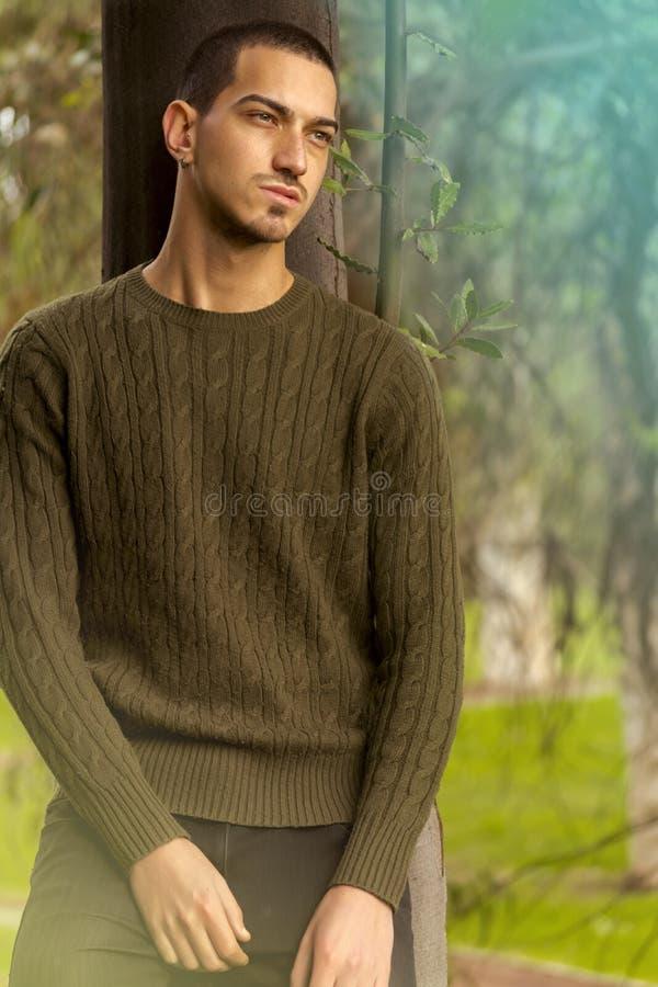 Hombre atractivo italiano imagen de archivo