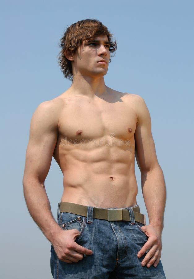 Hombre atractivo joven foto de archivo