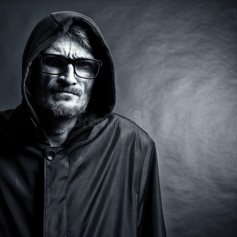 Hombre barbudo imágenes de archivo libres de regalías
