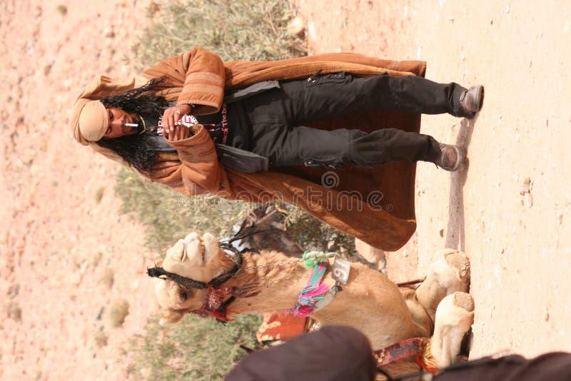 Hombre beduino joven imagen de archivo