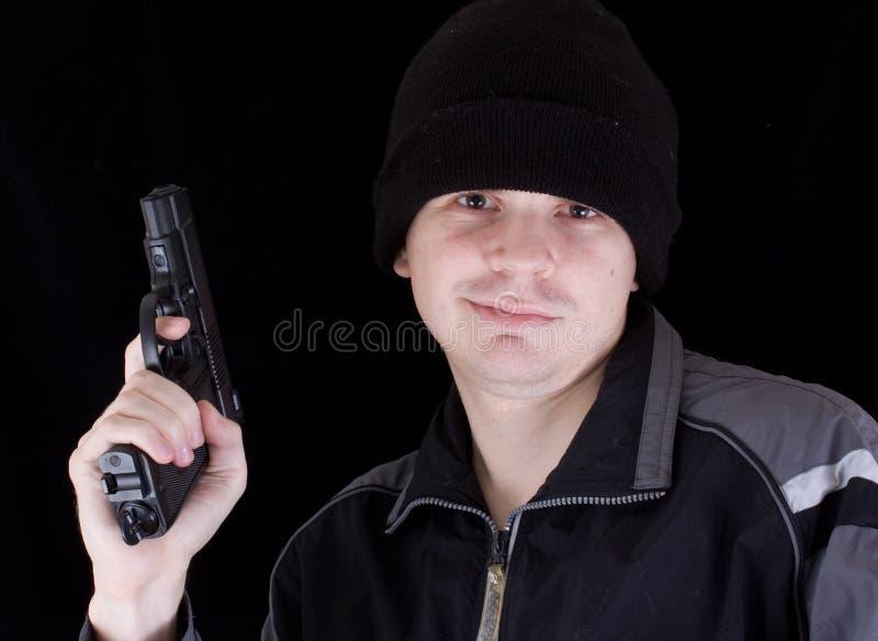 Download Hombre con el arma imagen de archivo. Imagen de matanza - 7277127
