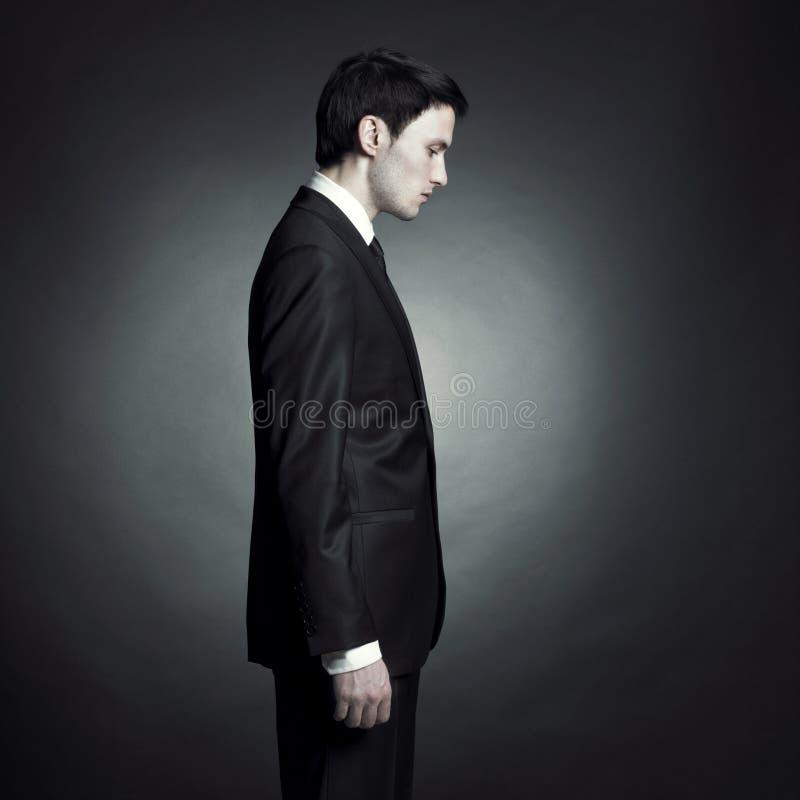 Hombre con estilo hermoso imagen de archivo