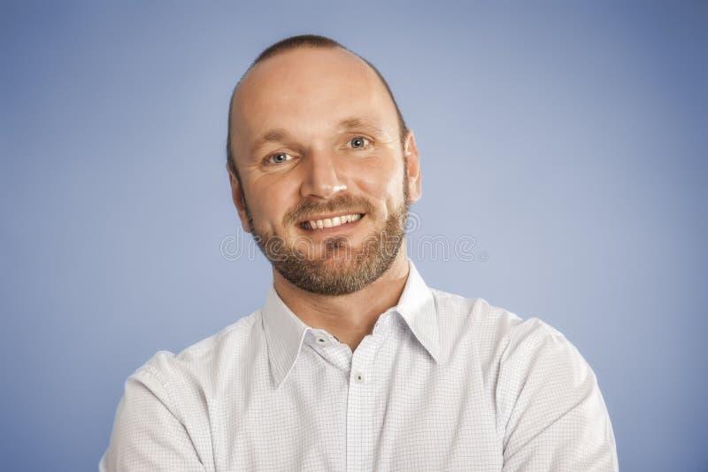 Hombre con la barba imagenes de archivo