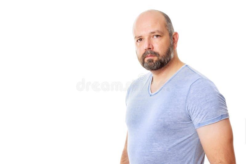 Hombre con la barba imagen de archivo