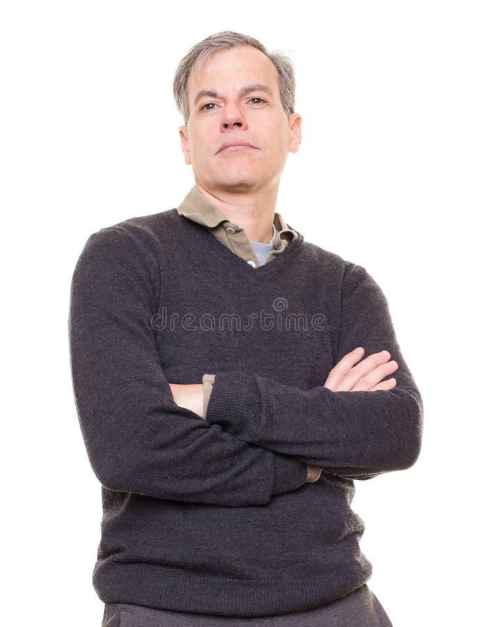 Hombre confiado imagen de archivo libre de regalías