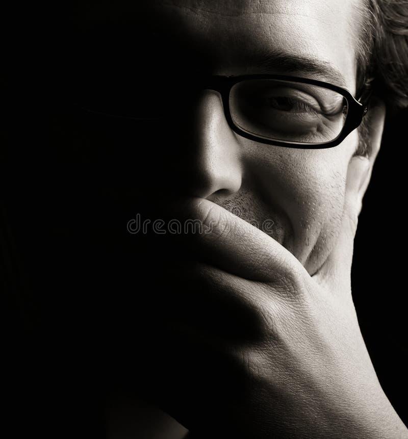 Hombre confidente foto de archivo