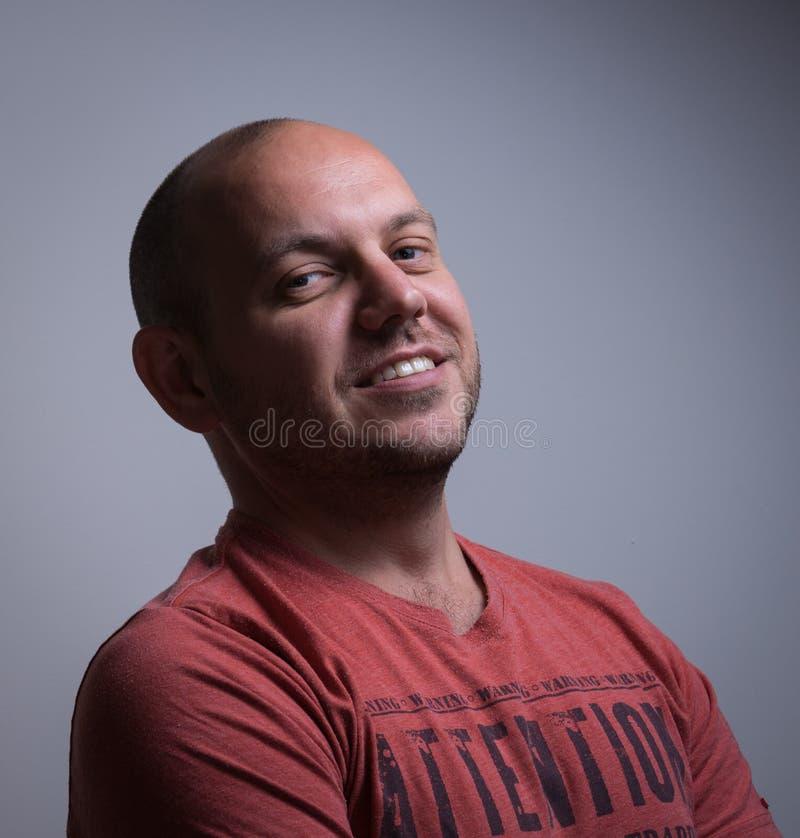 Hombre confidente foto de archivo libre de regalías