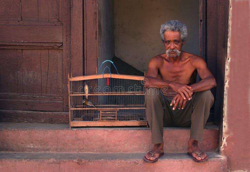 Hombre cubano imagen de archivo libre de regalías