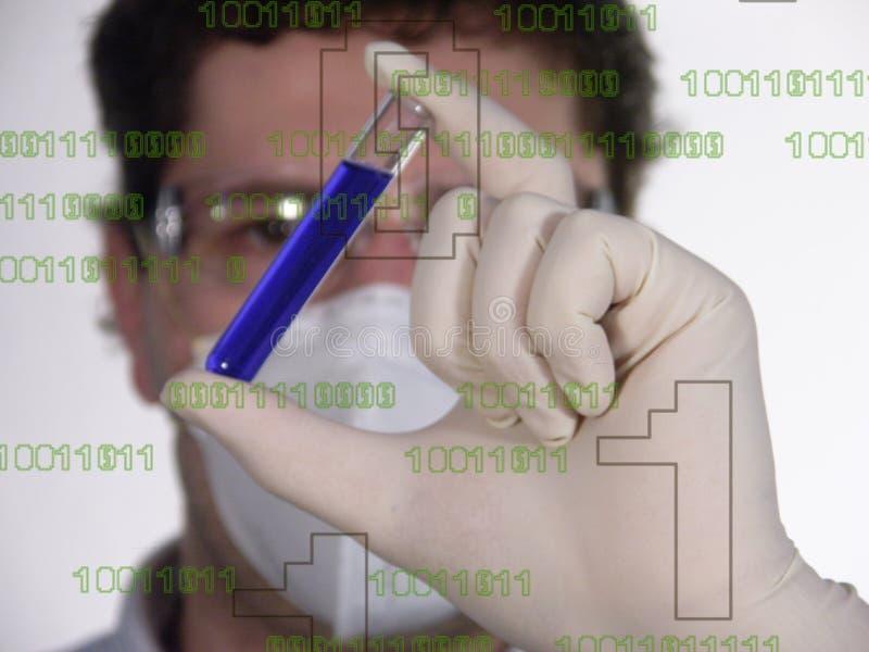 Hombre de ciencia imagenes de archivo