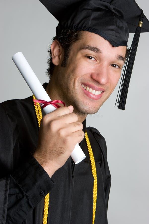 Hombre de graduación fotos de archivo