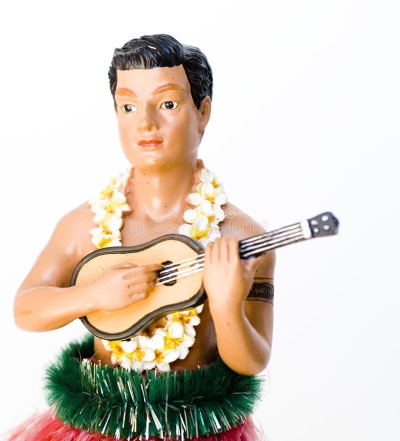 Hombre de Hula imagen de archivo libre de regalías