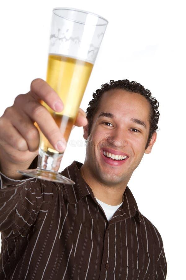 Hombre de la cerveza imágenes de archivo libres de regalías