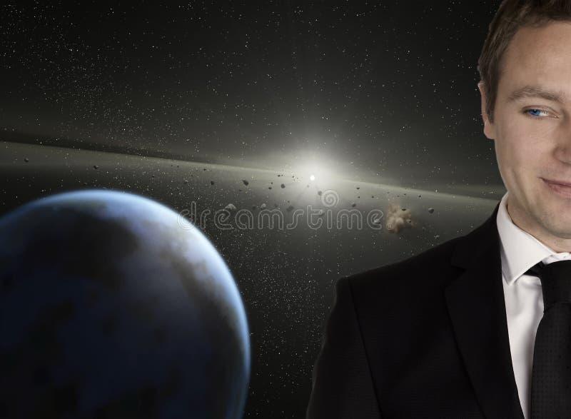 Hombre de la estrella foto de archivo